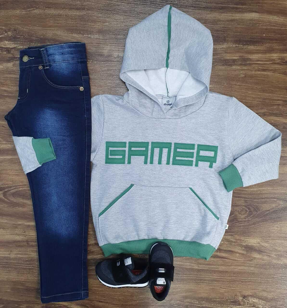 Calça com Blusa Gamers Infantil
