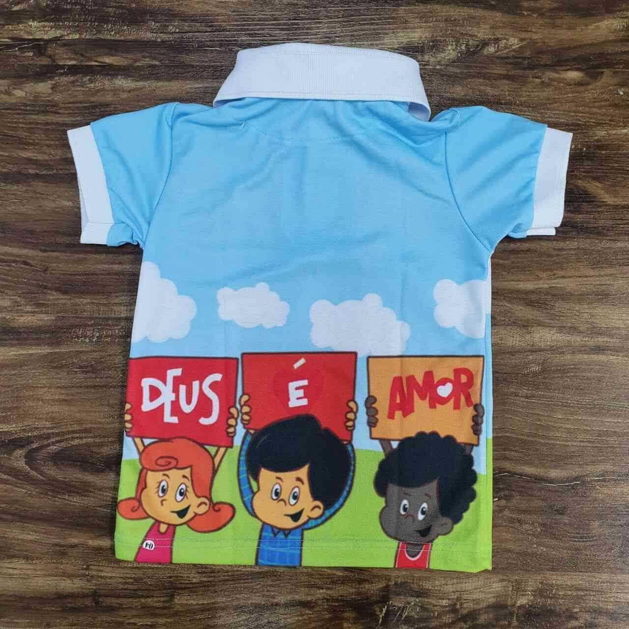 Calça mais Camisa 3 Palavrinhas Infantil