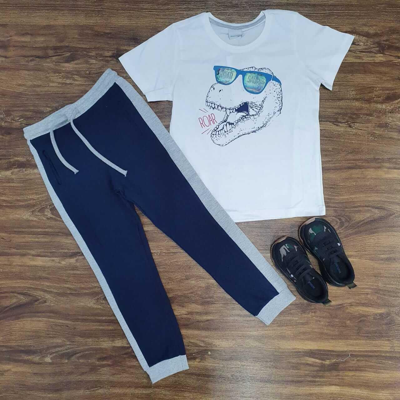 Calça com Camiseta Infantil