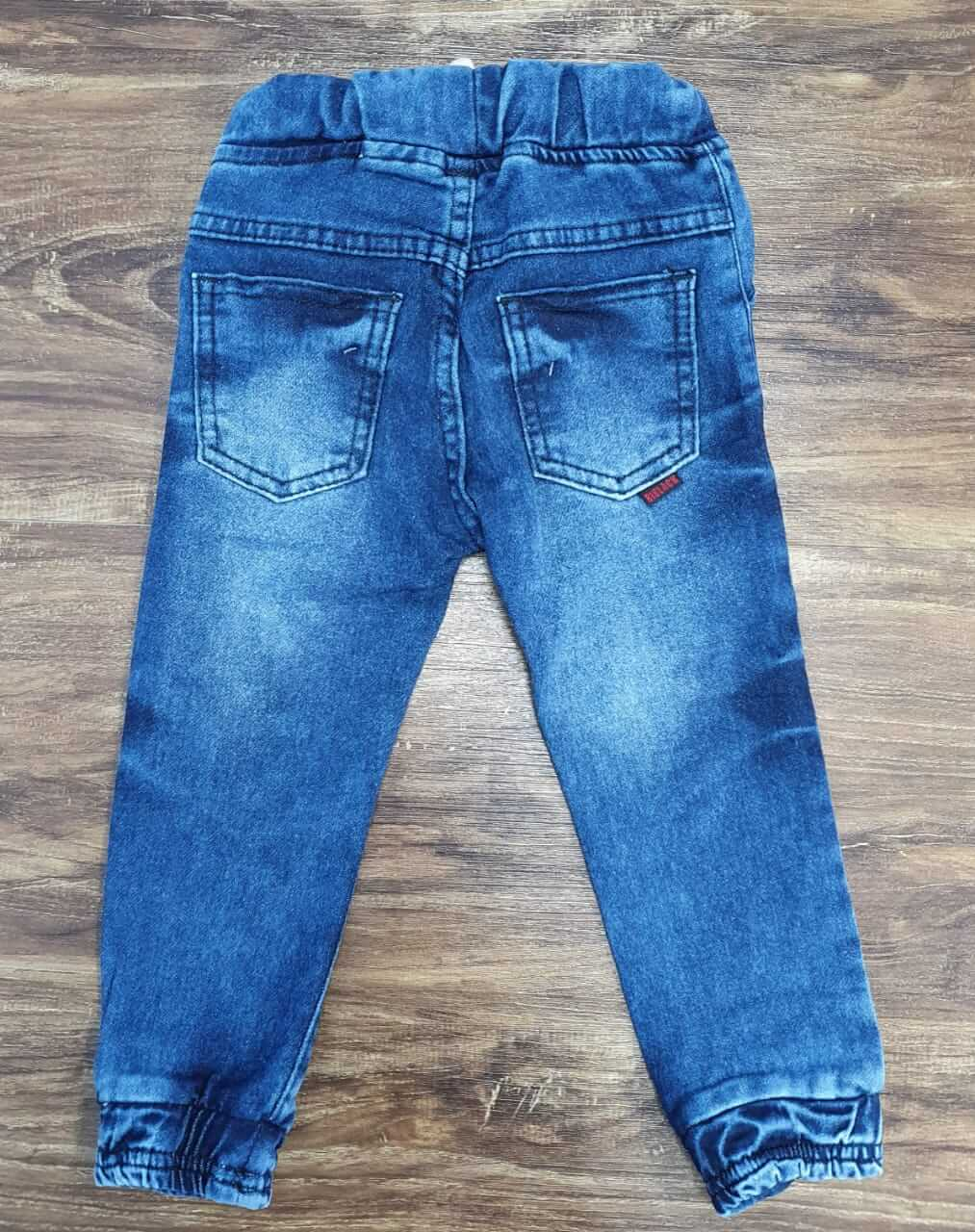 Calça Jeans Jogger Infantil
