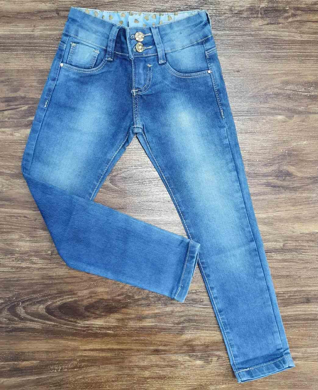 Calça Jeans Lisa Infantil