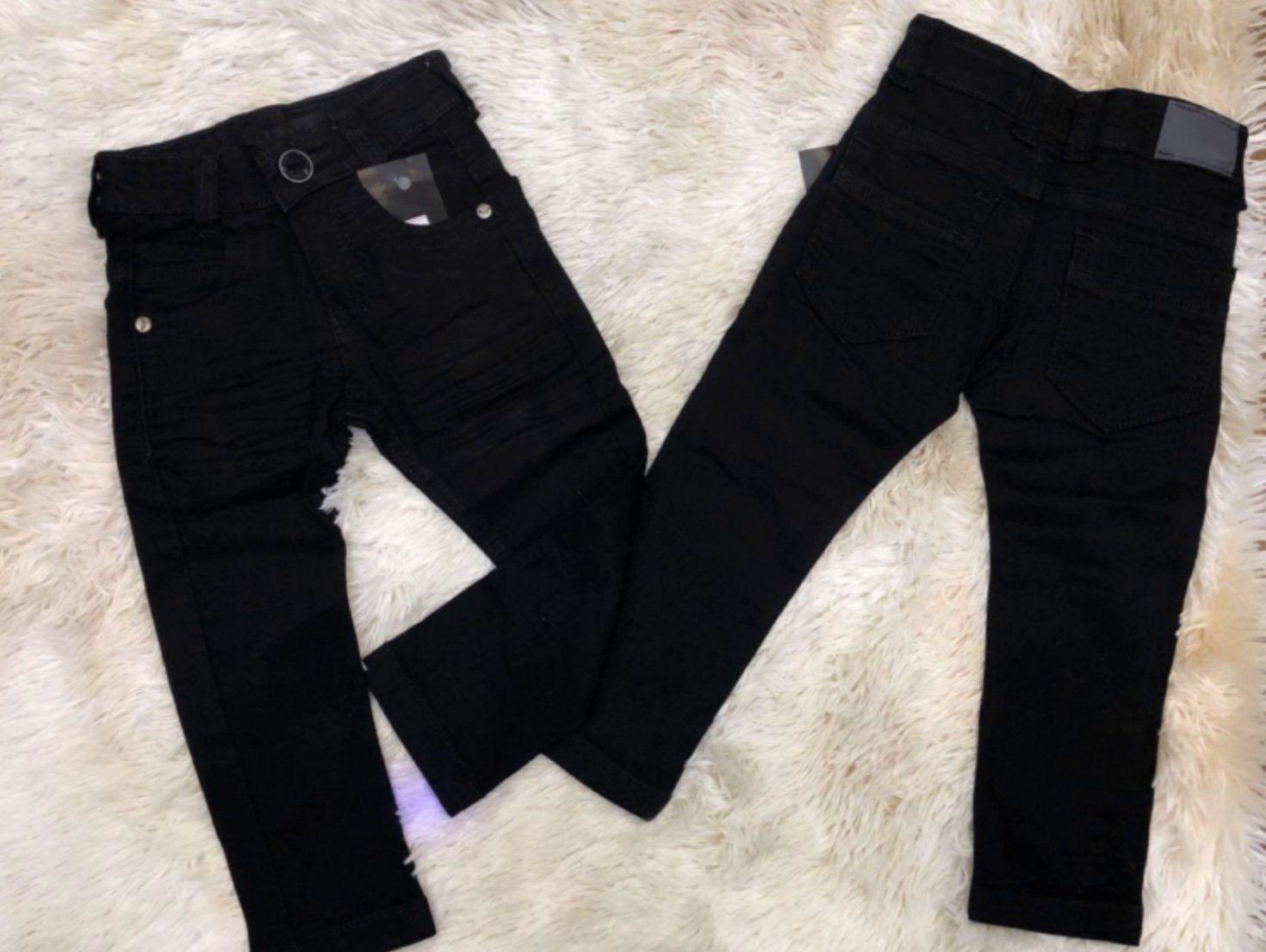 Calça Jeans Preta/Black