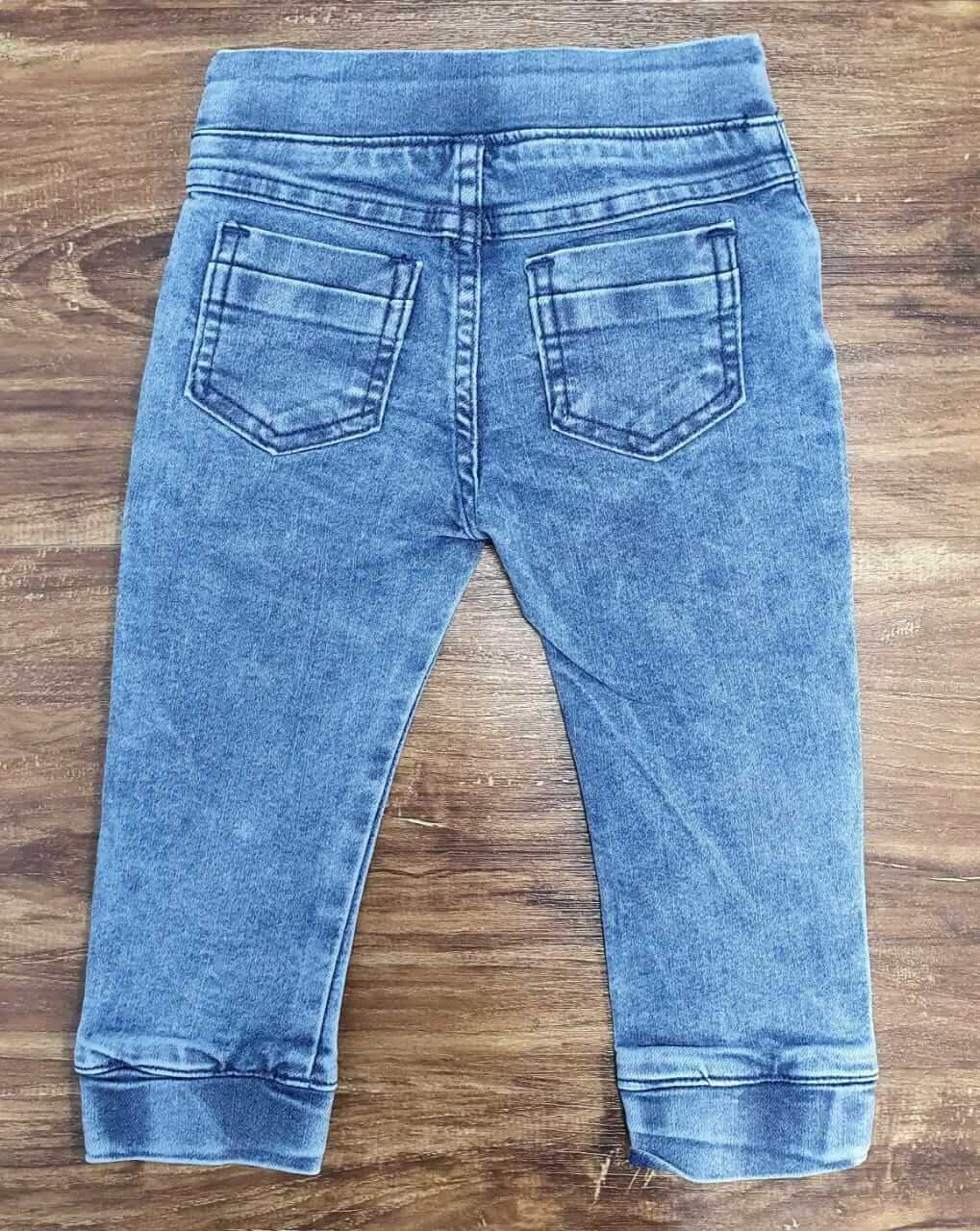 Calça Jogger Jeans Claro Infantil