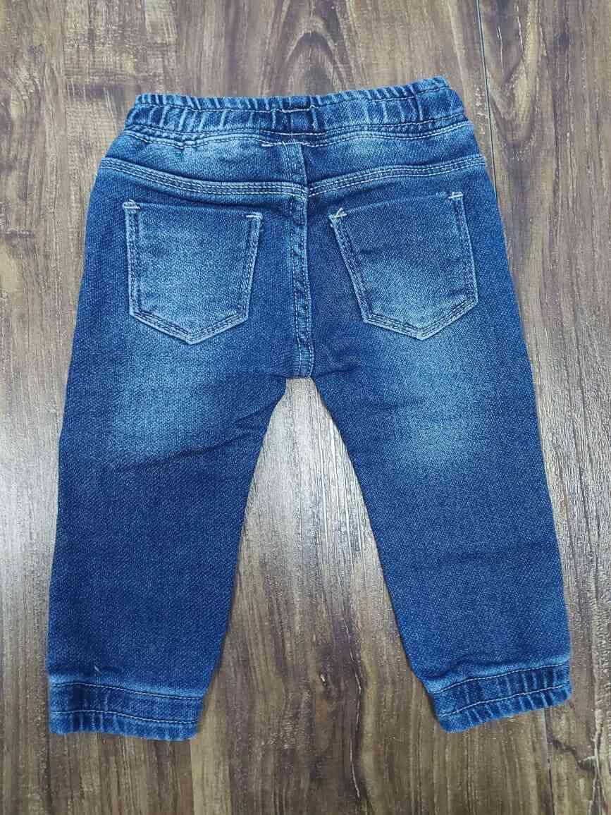 Calça Jogger Jeans Baby