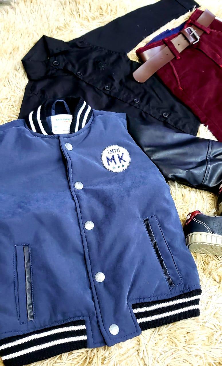 Calça Vinho com Camisa Social e Jaqueta