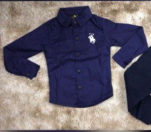 Camisa Azul Marinho