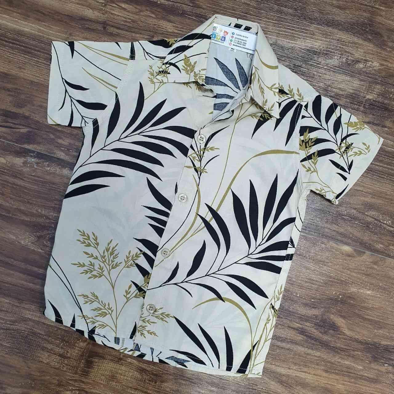 Camisa Bamboo Infantil