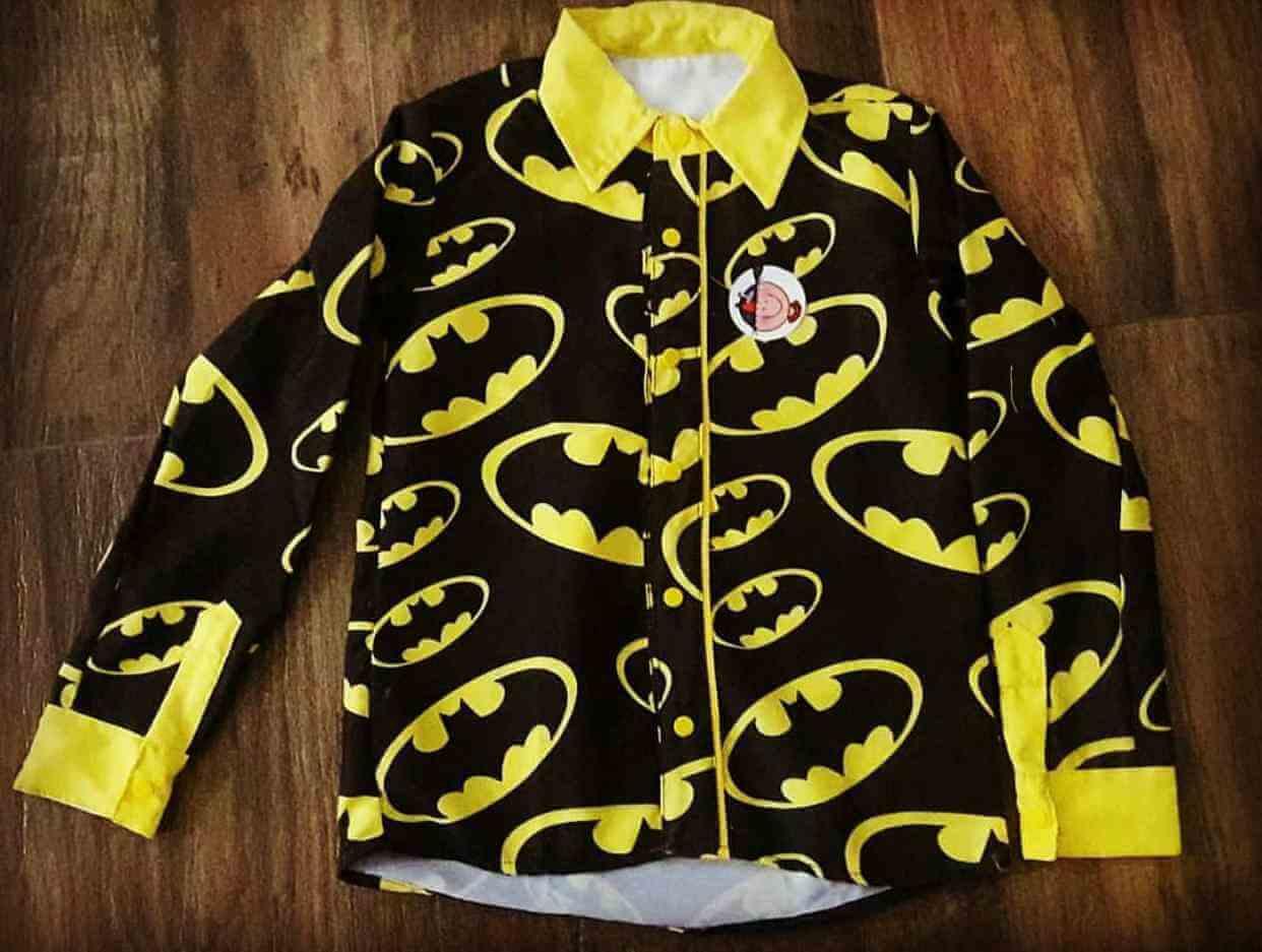 Camisa Batman Infantil