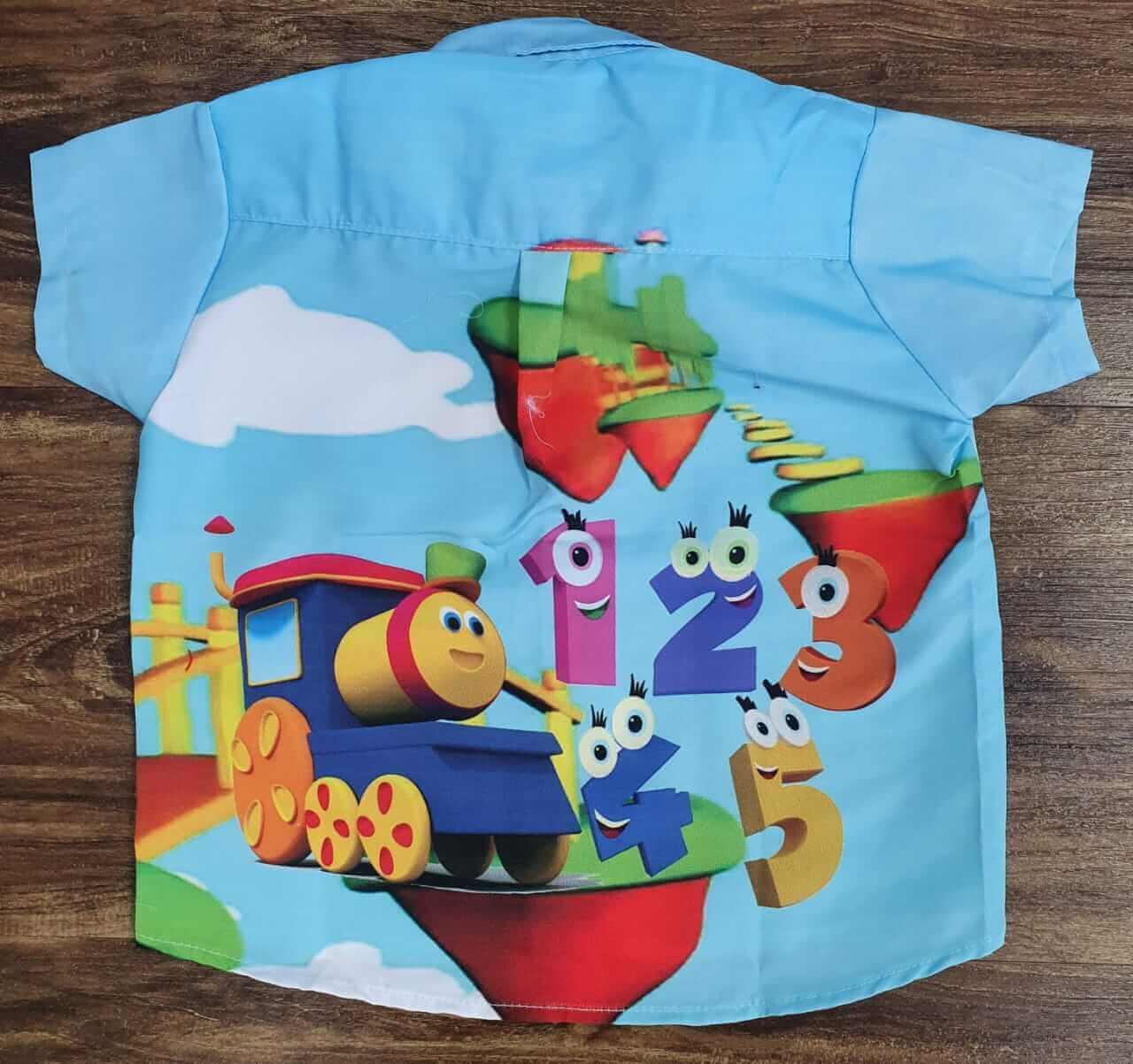 Camisa Bob o Trem Infantil