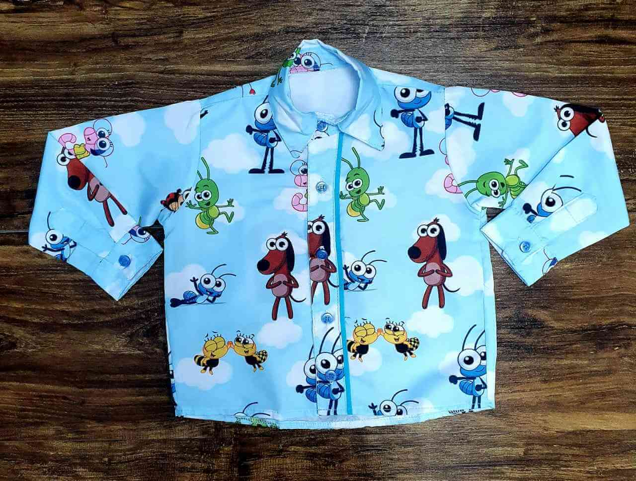 Camisa Bob Zoom Infantil