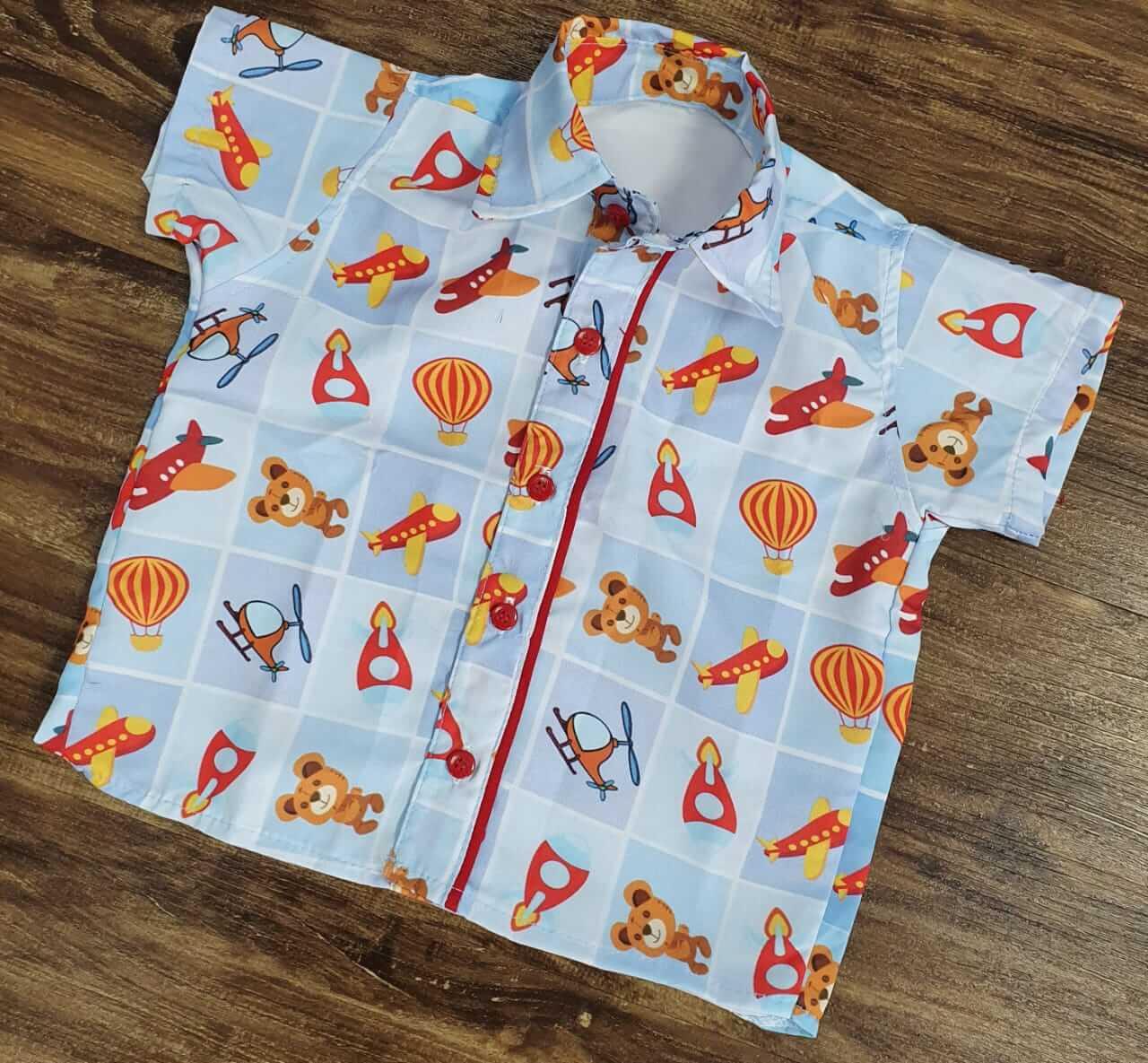 Camisa Brinquedos Infantil