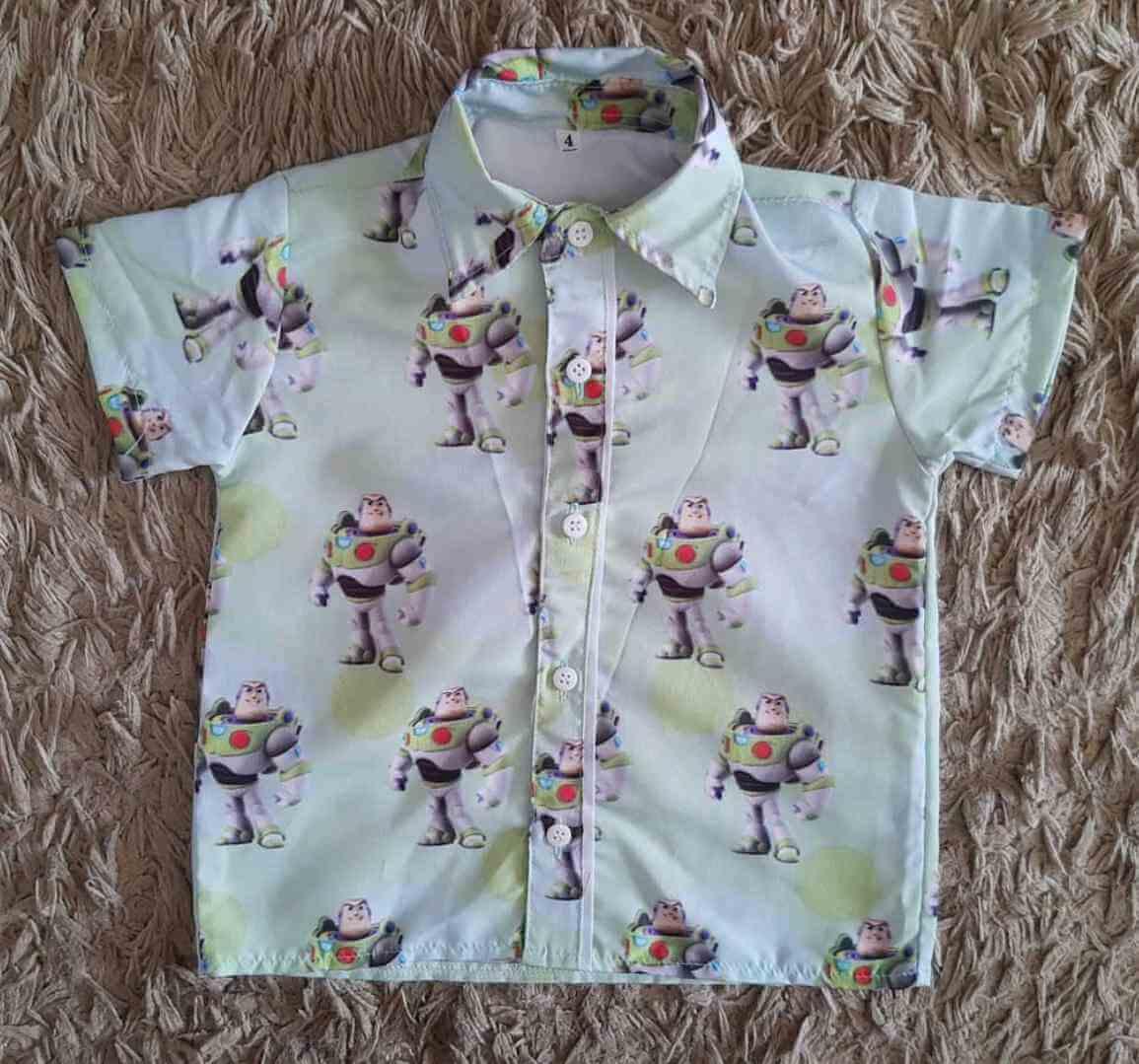 Camisa Buzz Lightyear Infantil