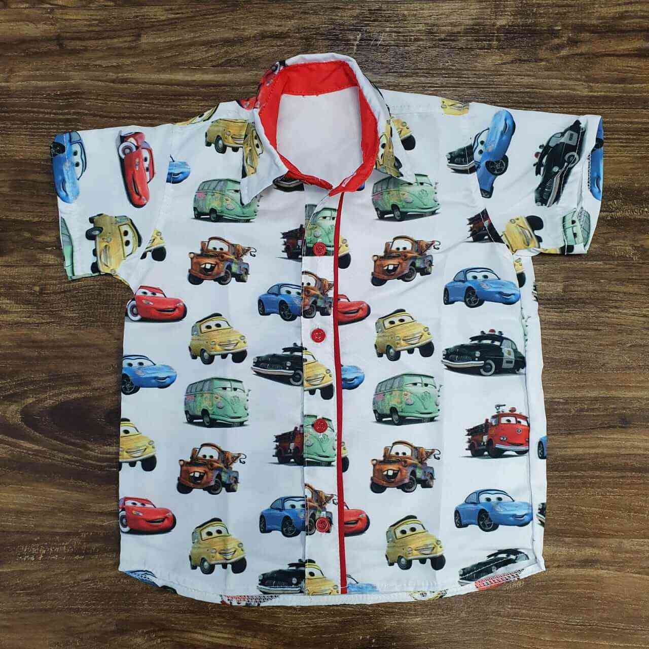 Camisa Carros