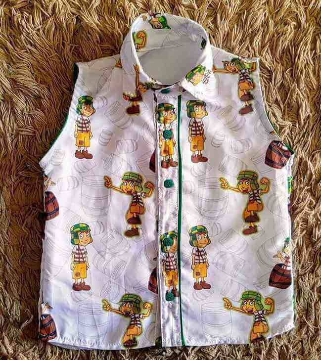 Camisa Chaves Infantil