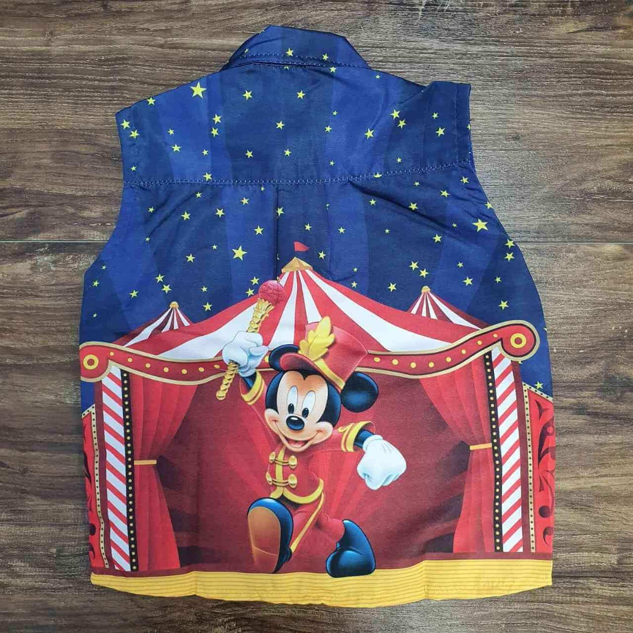 Colete Mickey Mágico Infantil