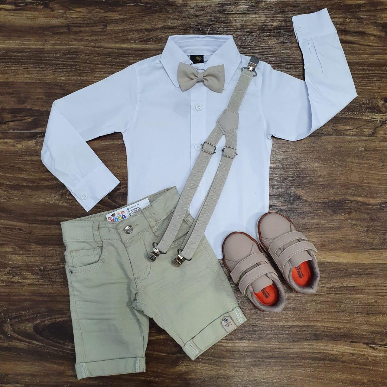 Camisa com Bermuda Infantil
