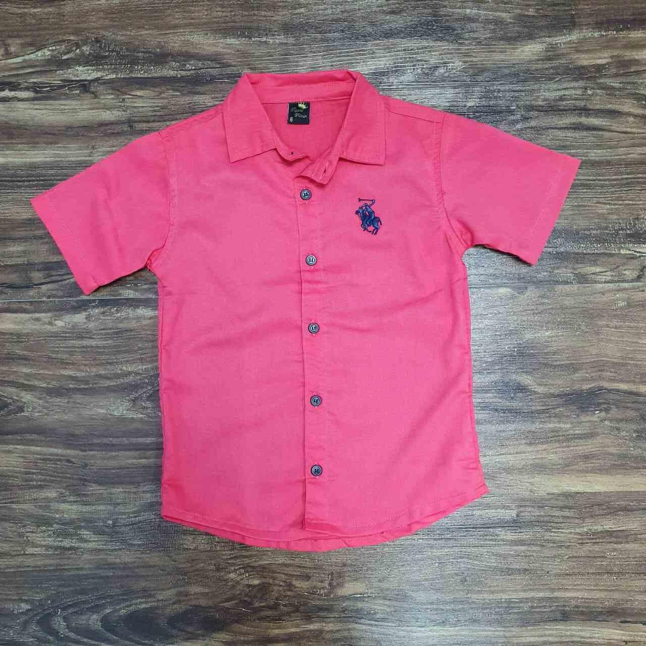 Camisa Coral Infantil
