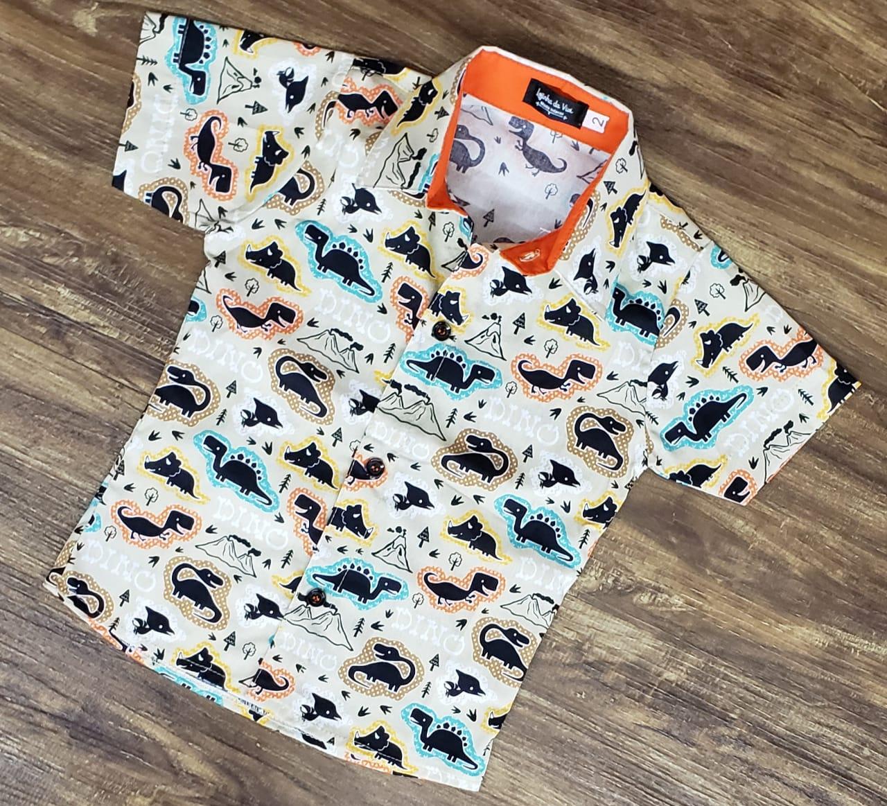 Camisa Dinossauros