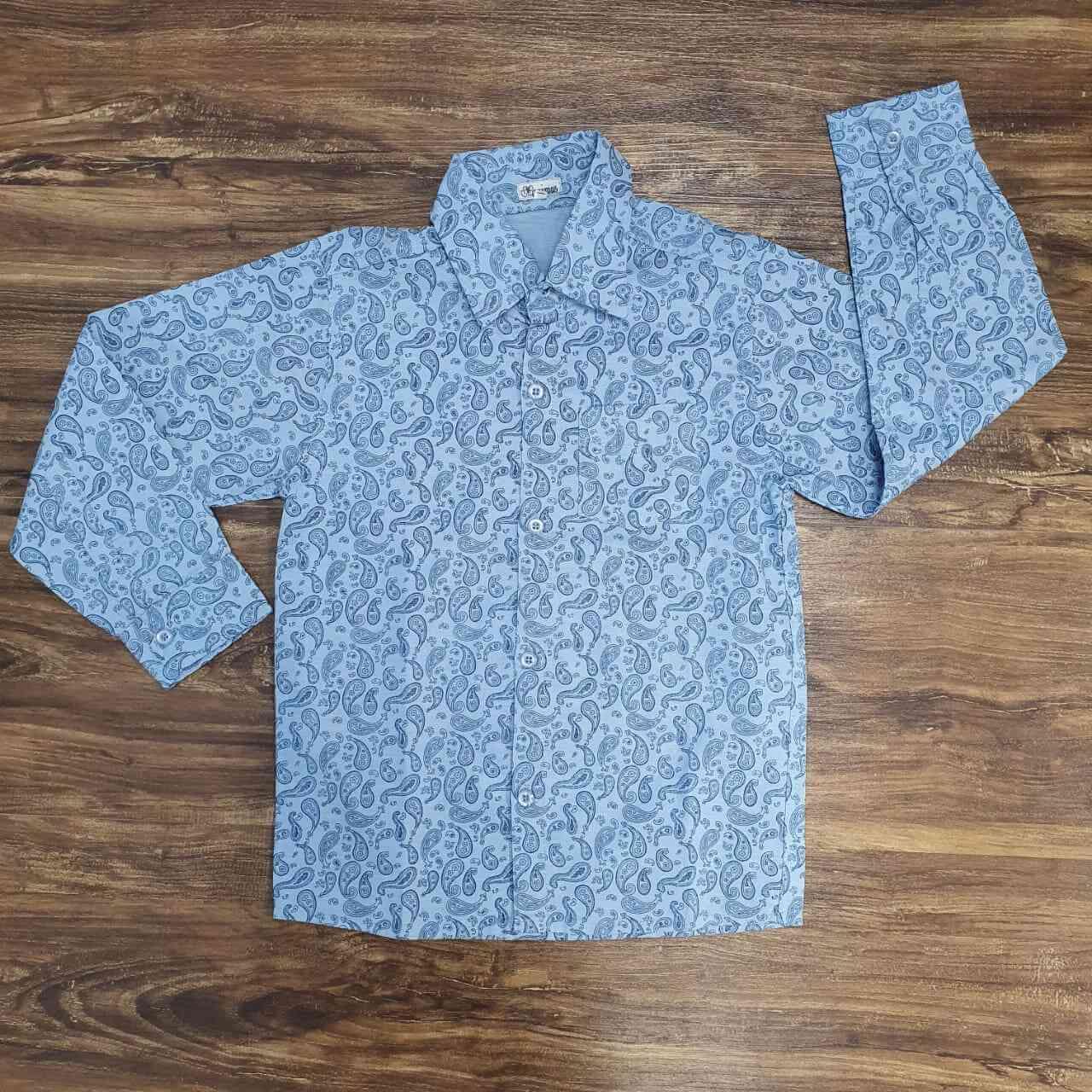 Camisa drop pattern Infantil