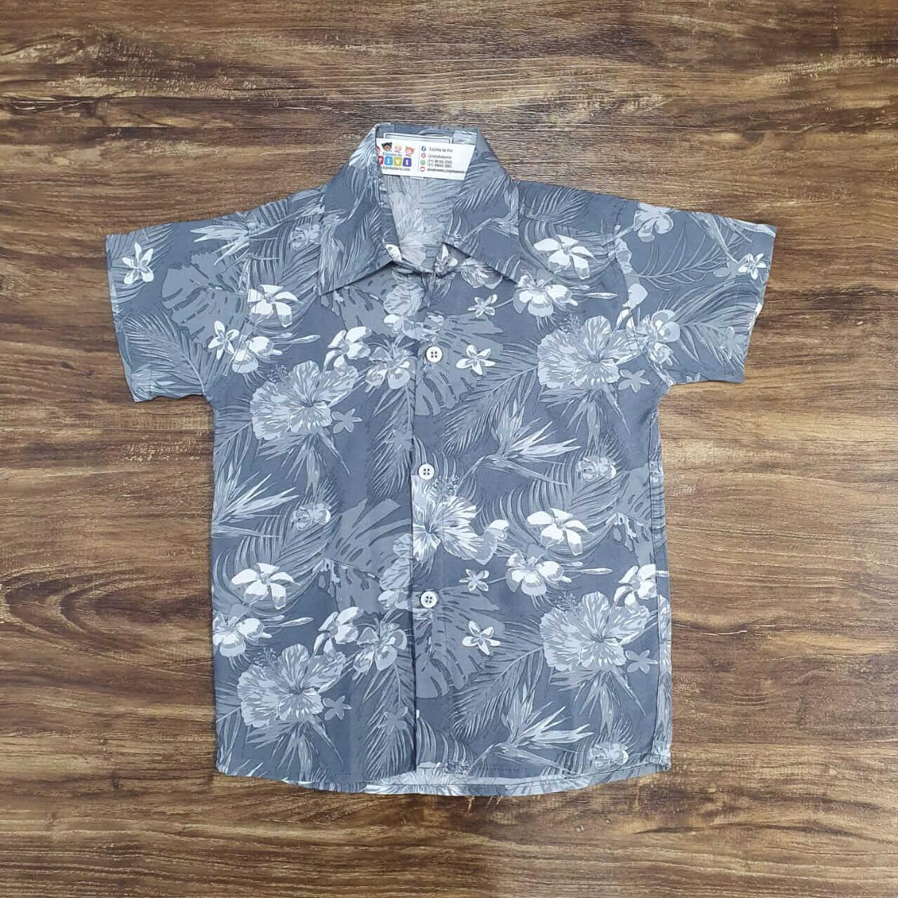 Camisa Floral Infantil