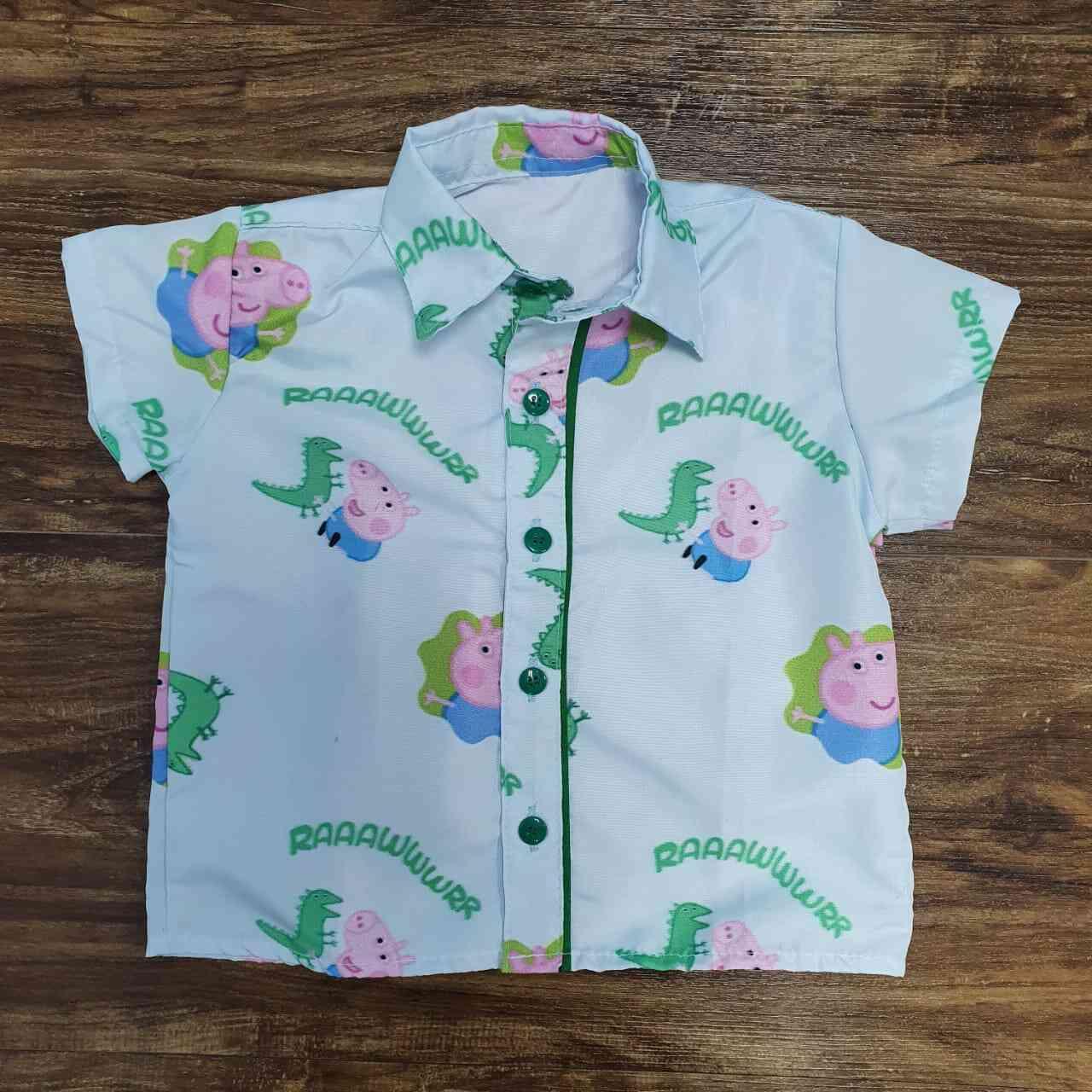 Camisa George Pig Infantil