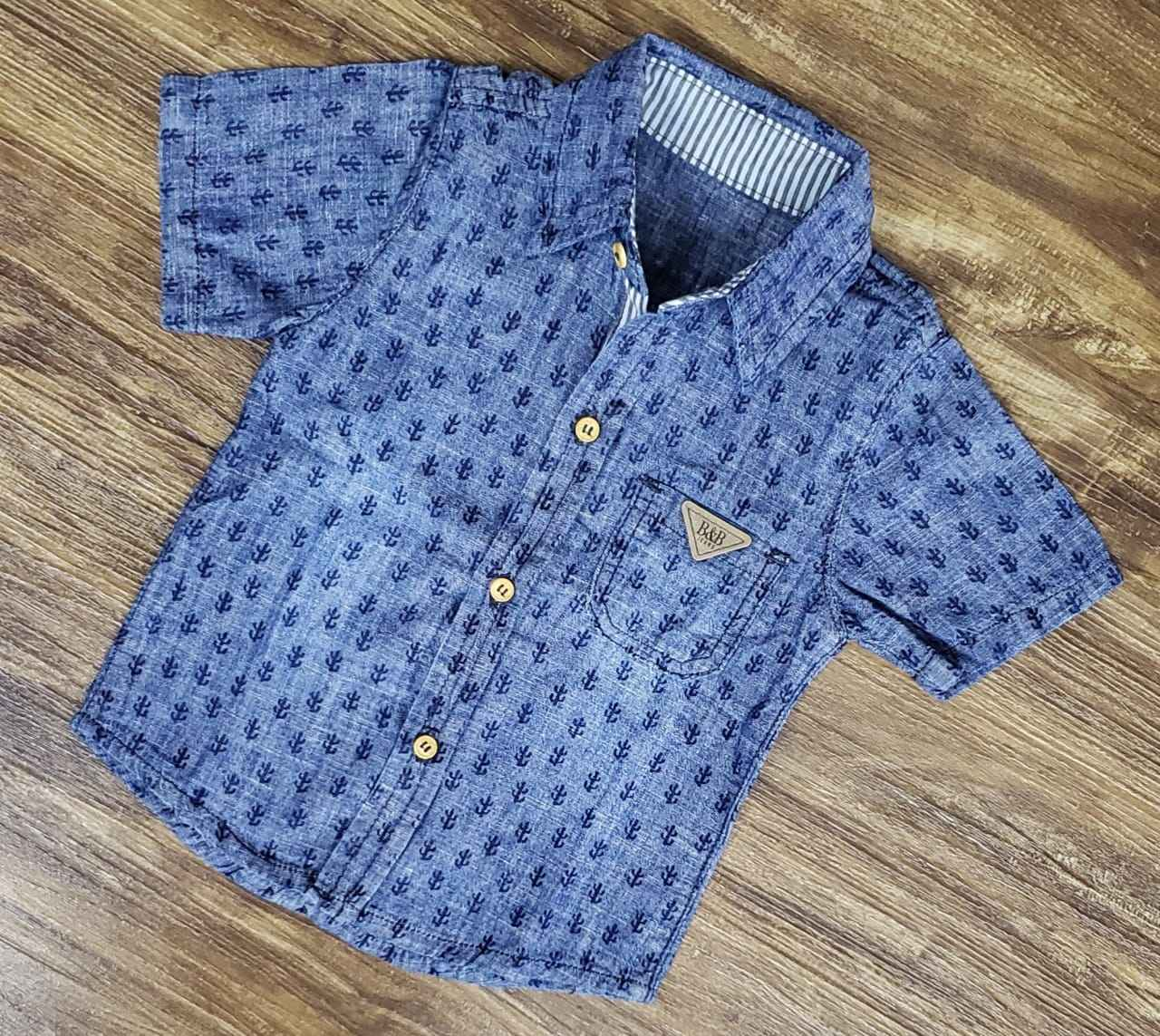 Camisa Jeans Cactos