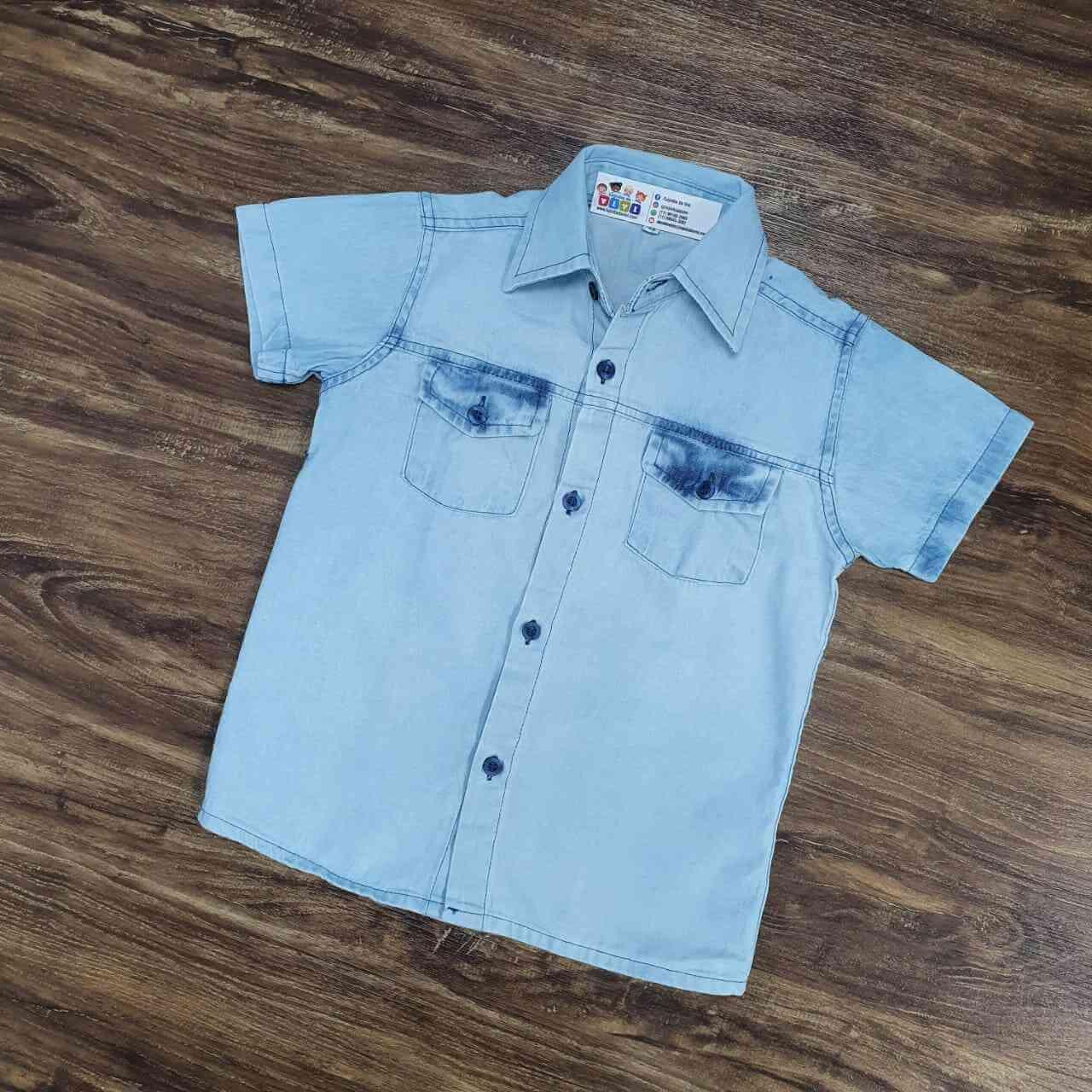 Camisa Jeans Clara Infantil