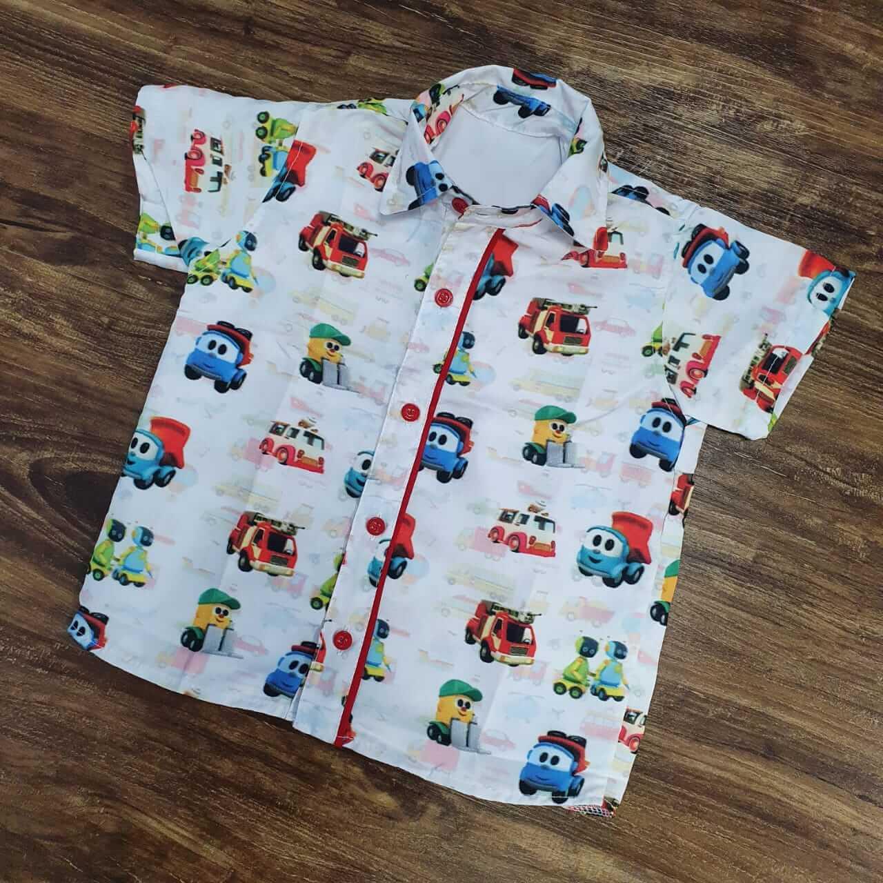 Camisa Léo o Caminhão Infantil