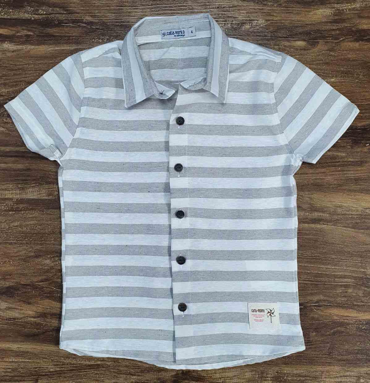 Camisa Listrada Infantil