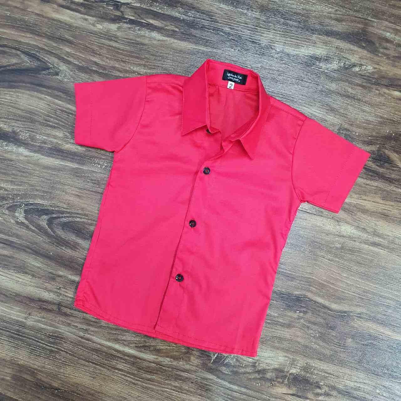 Camisa Manga Curta Infantil