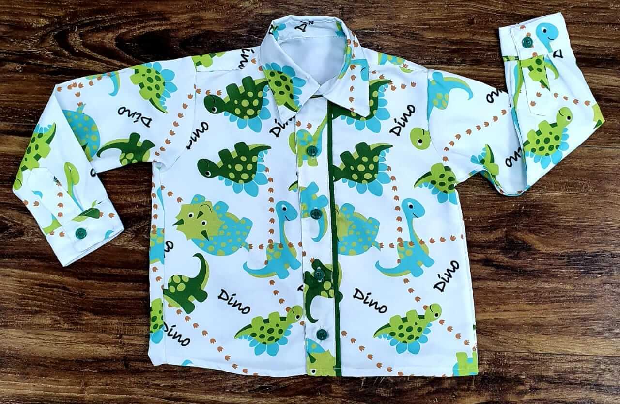 Camisa Manga Longa Dino