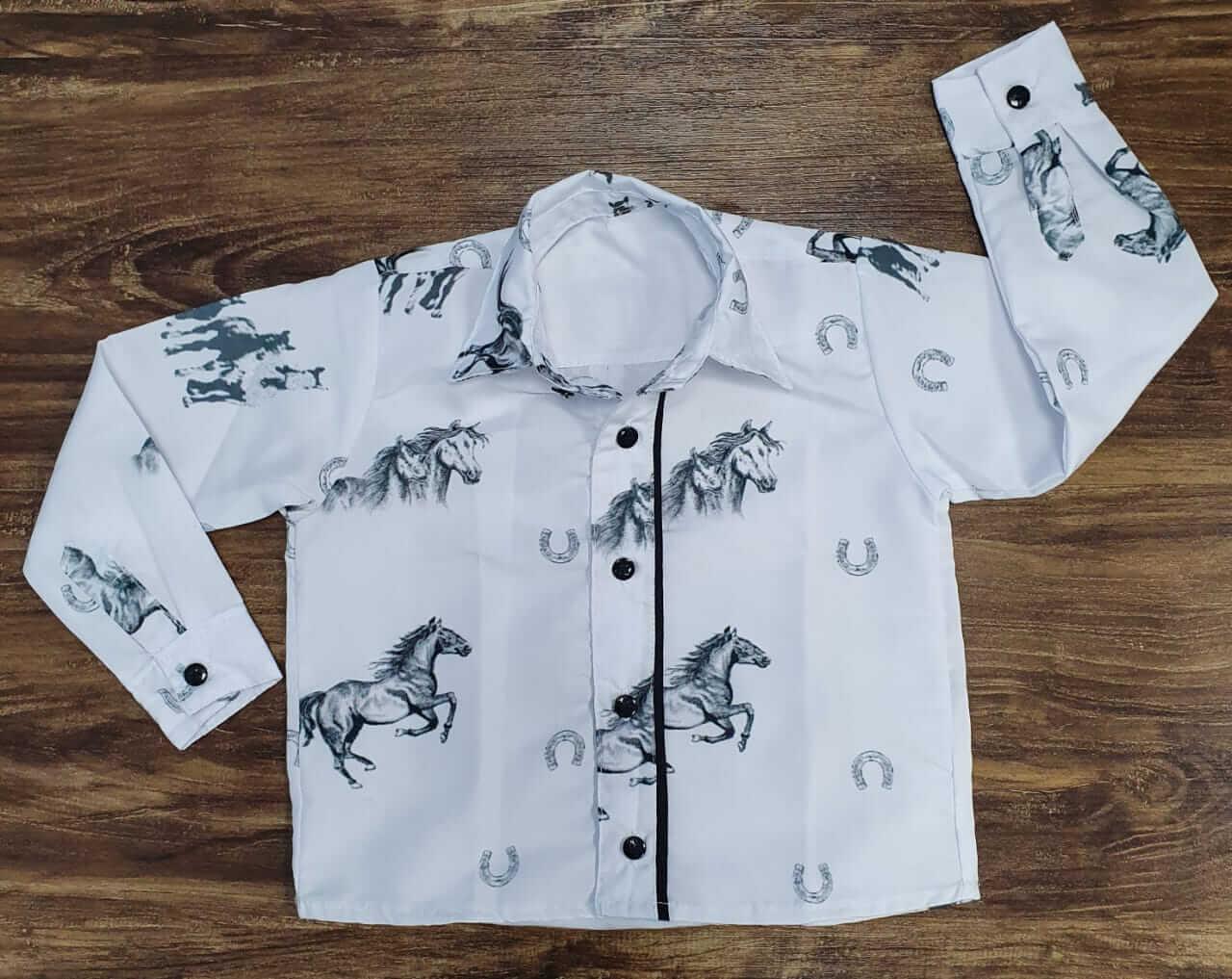 Camisa Manga Longa Vila Country Infantil