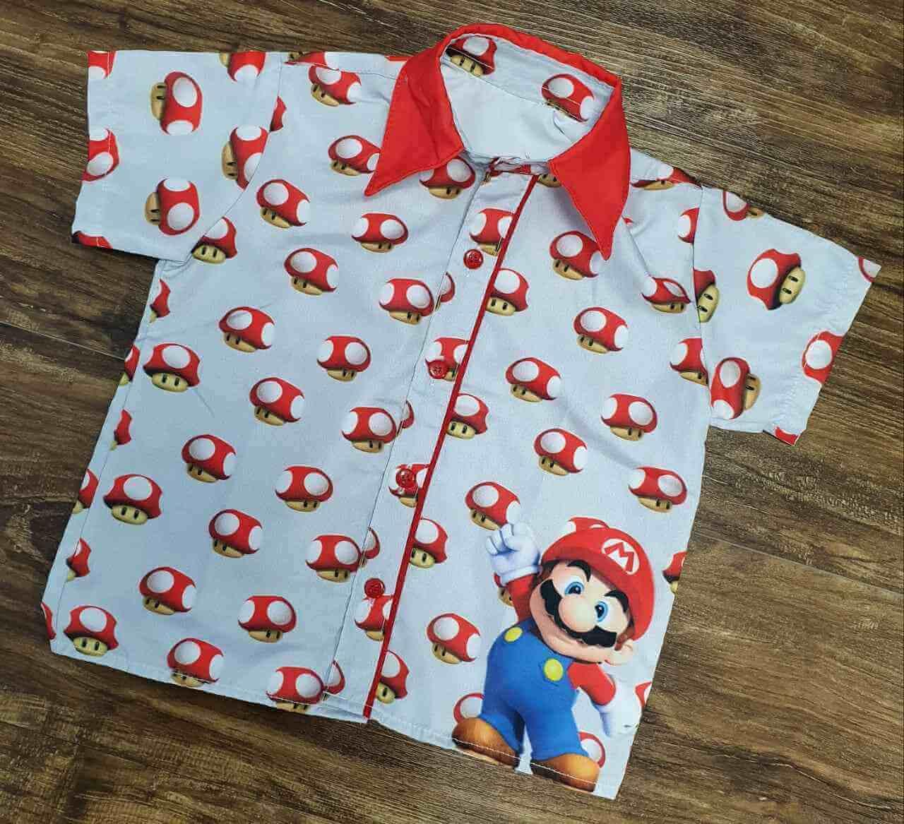 Camisa Mario Branca