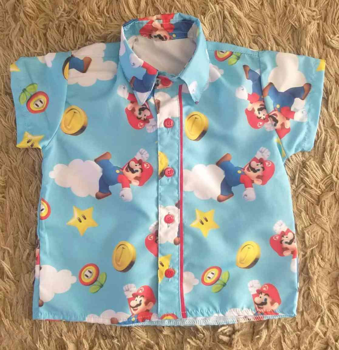 Camisa Mario Infantil