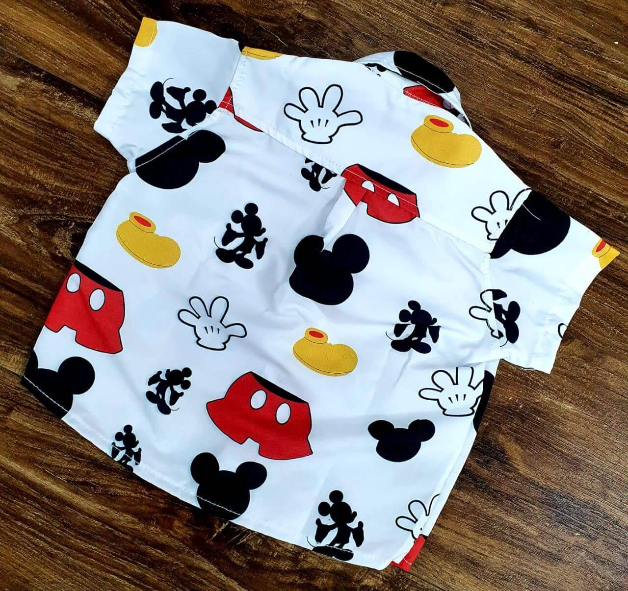 Camisa Mickey Infantil