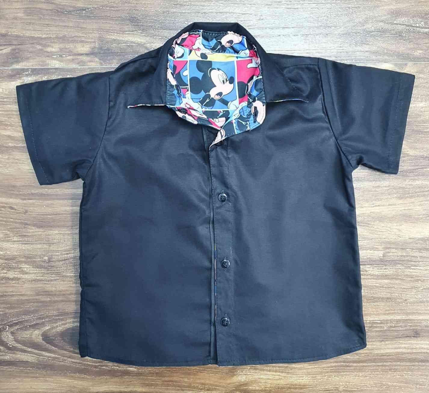 Camisa Mickey Desenho Infantil