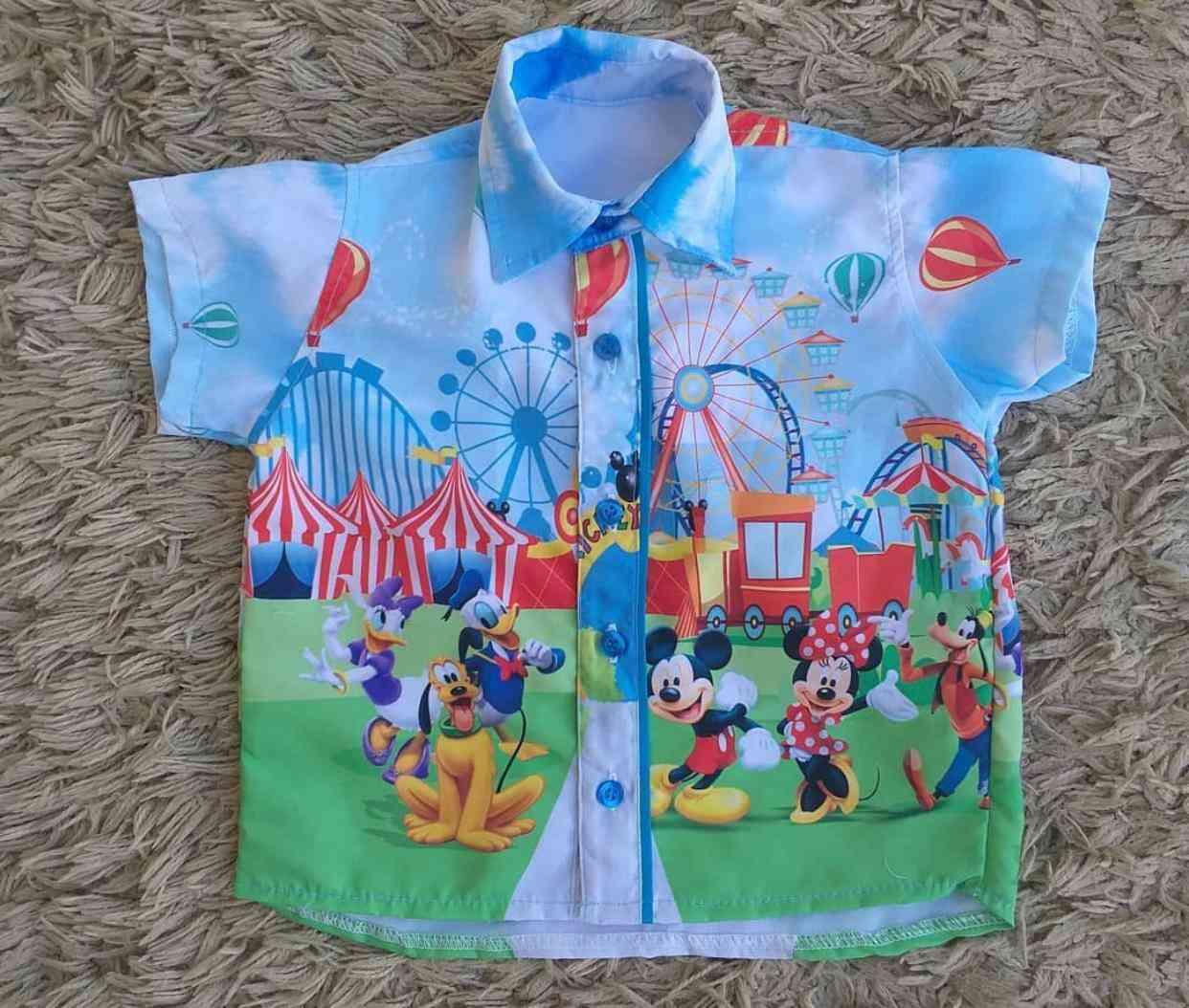 Camisa Parque Mickey