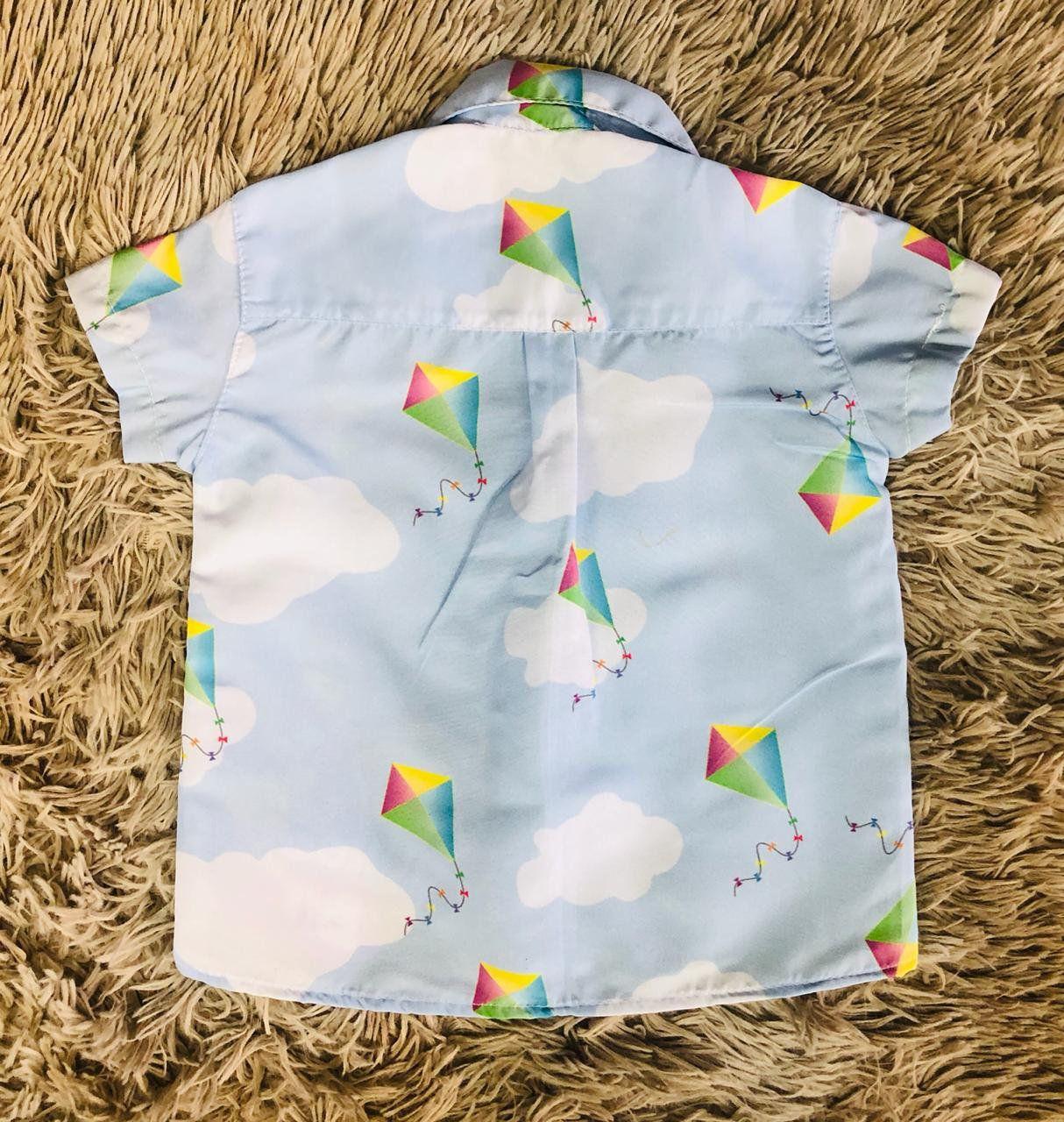 Camisa Mundo Bita Tradicional Infantil
