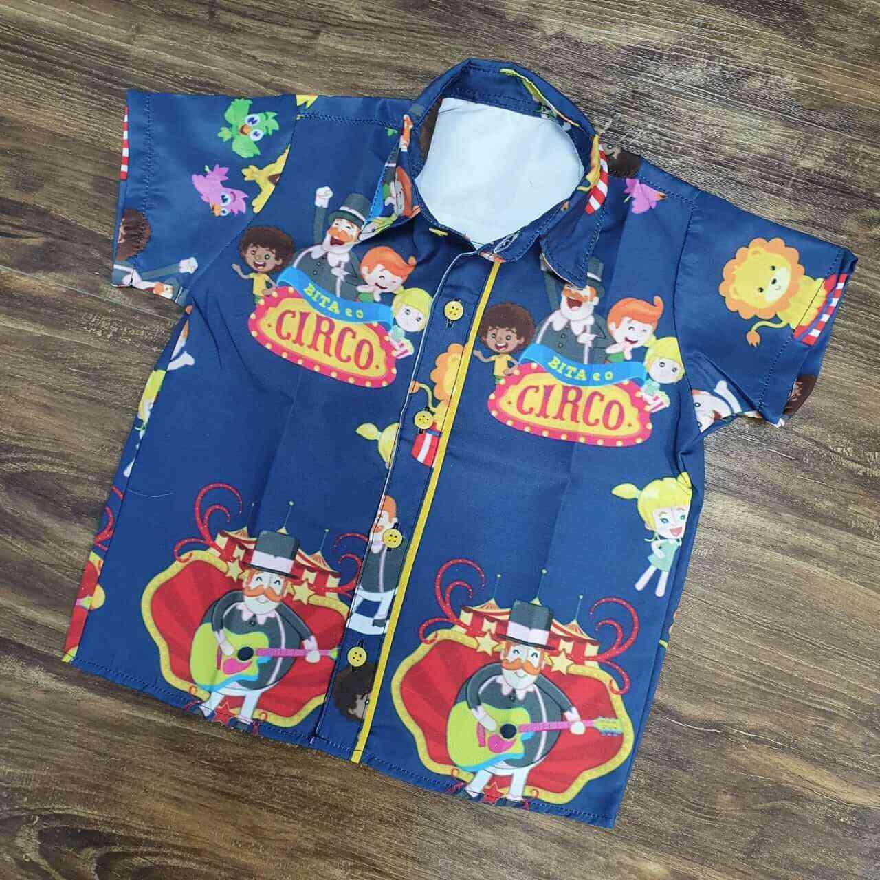 Camisa Mundo Bita Circo Infantil