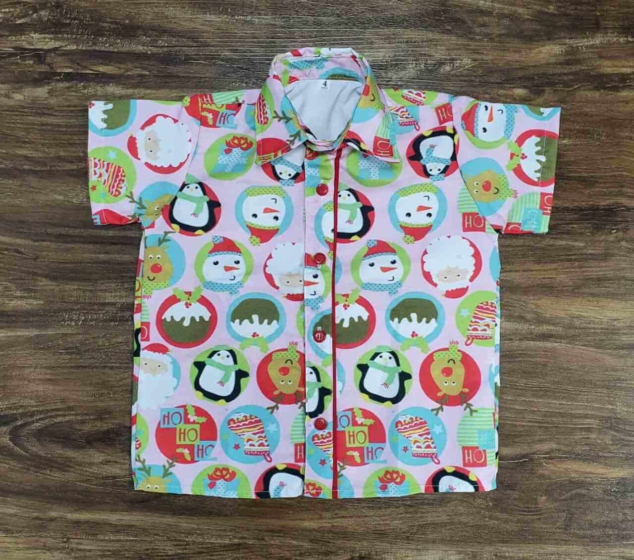 Camisa Natal Infantil