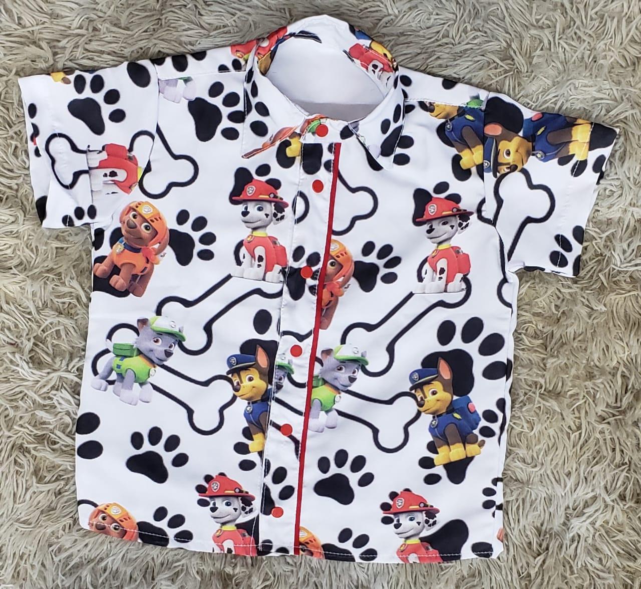 Camisa Patrulha Canina