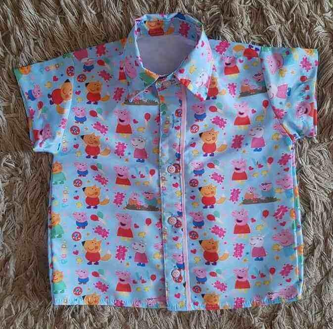 Camisa Peppa Pig Infantil