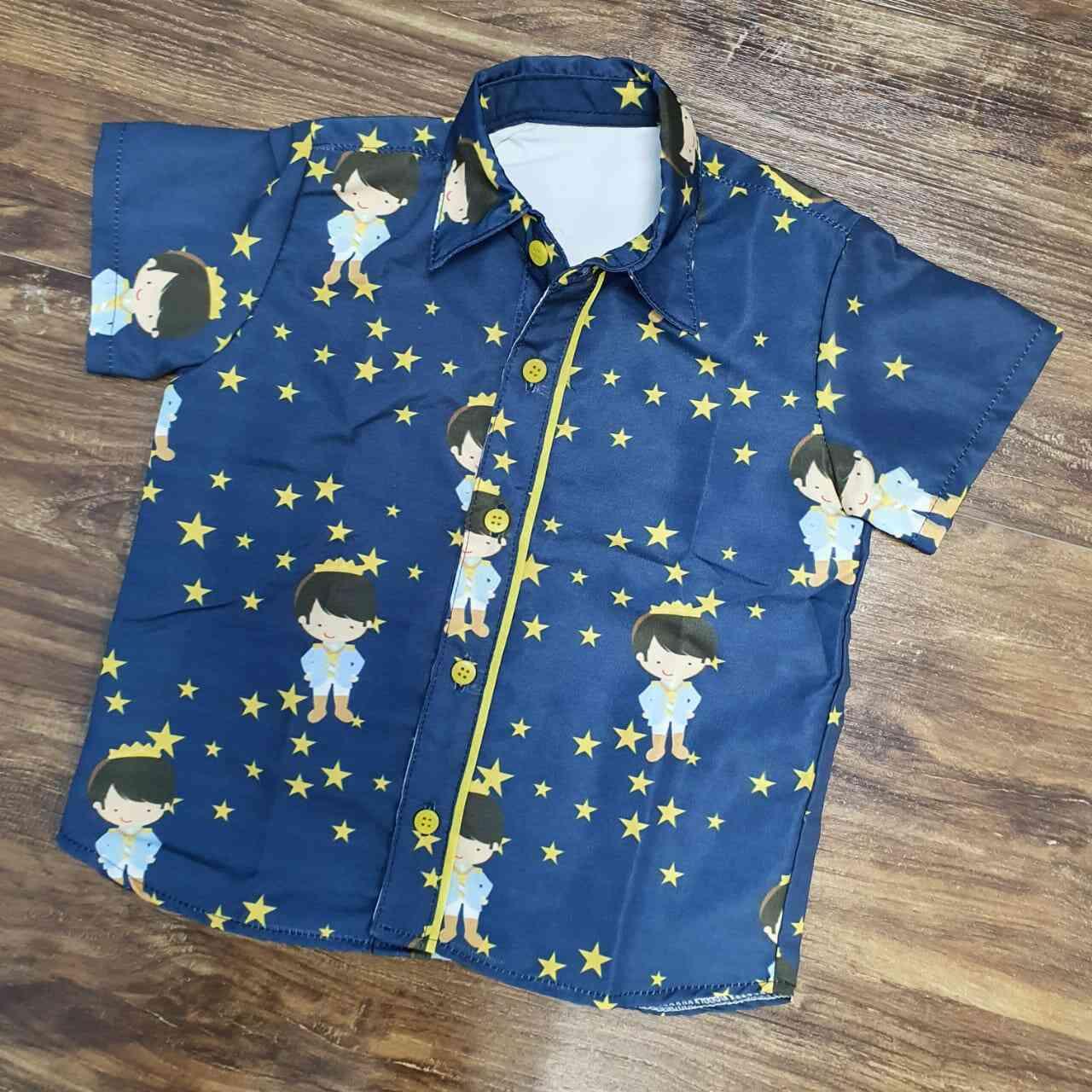 Camisa Pequeno Príncipe