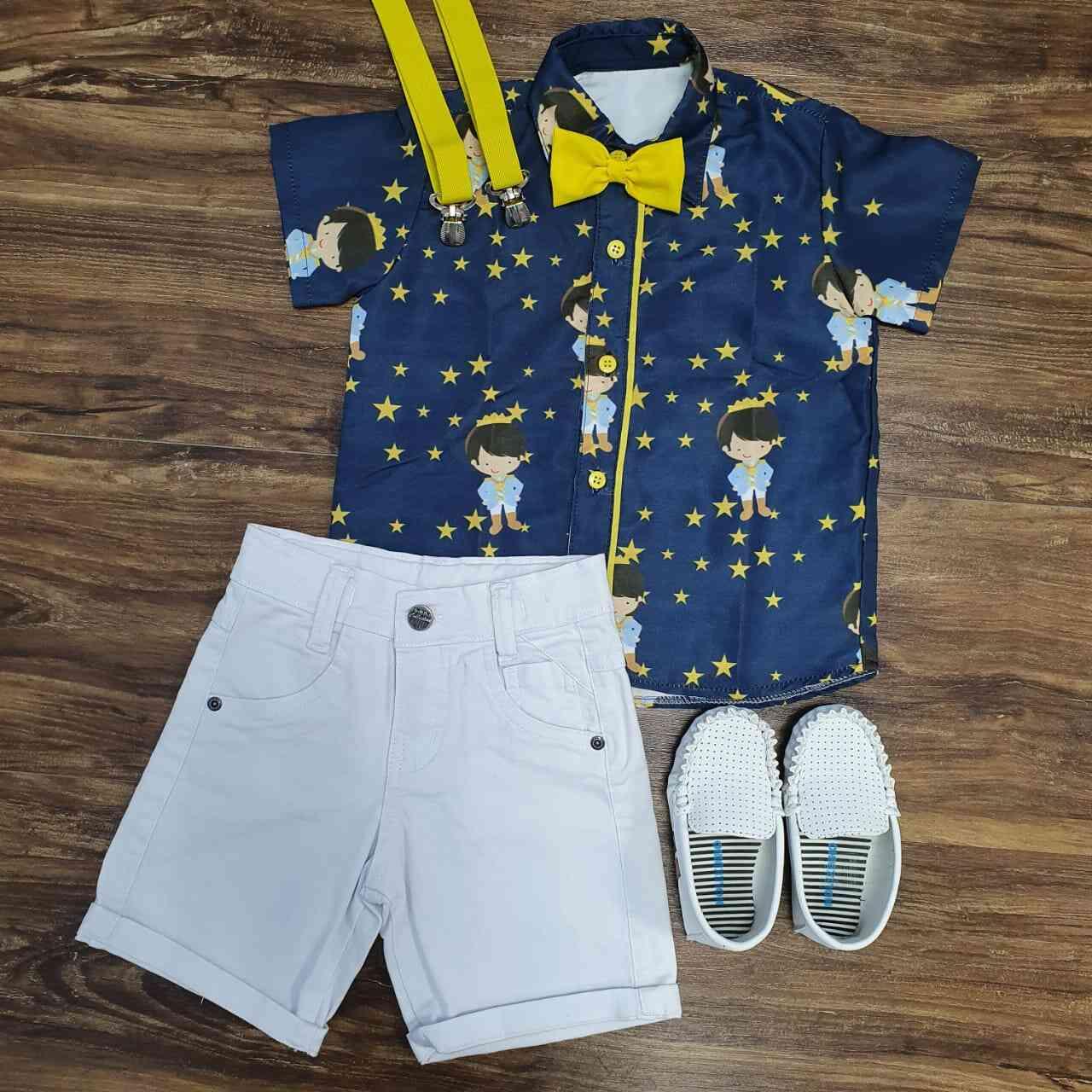 Camisa Pequeno Príncipe Infantil