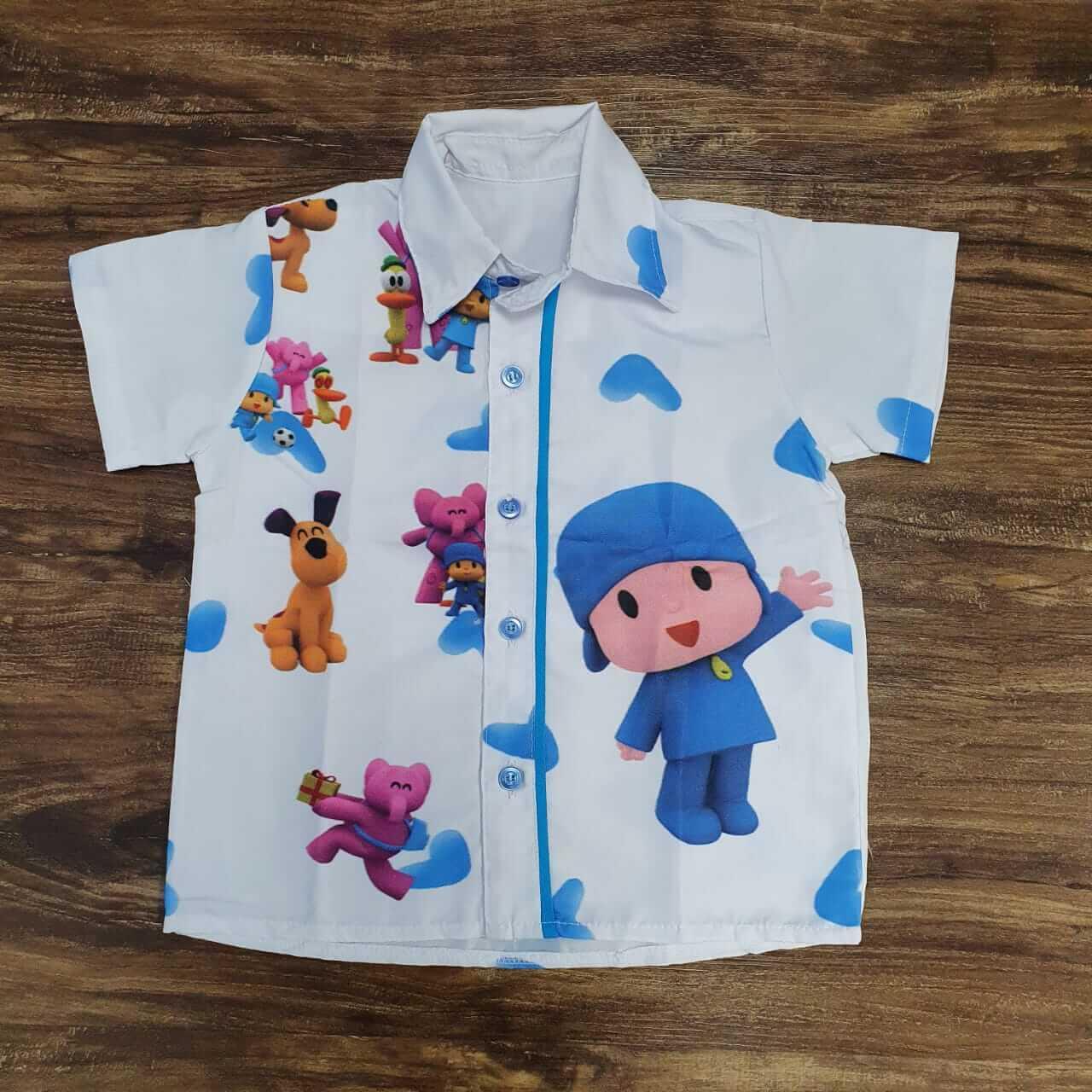Camisa Pocoyo Infantil