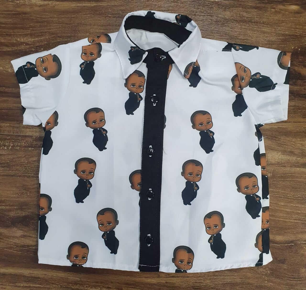 Camisa Poderoso Chefinho Infantil