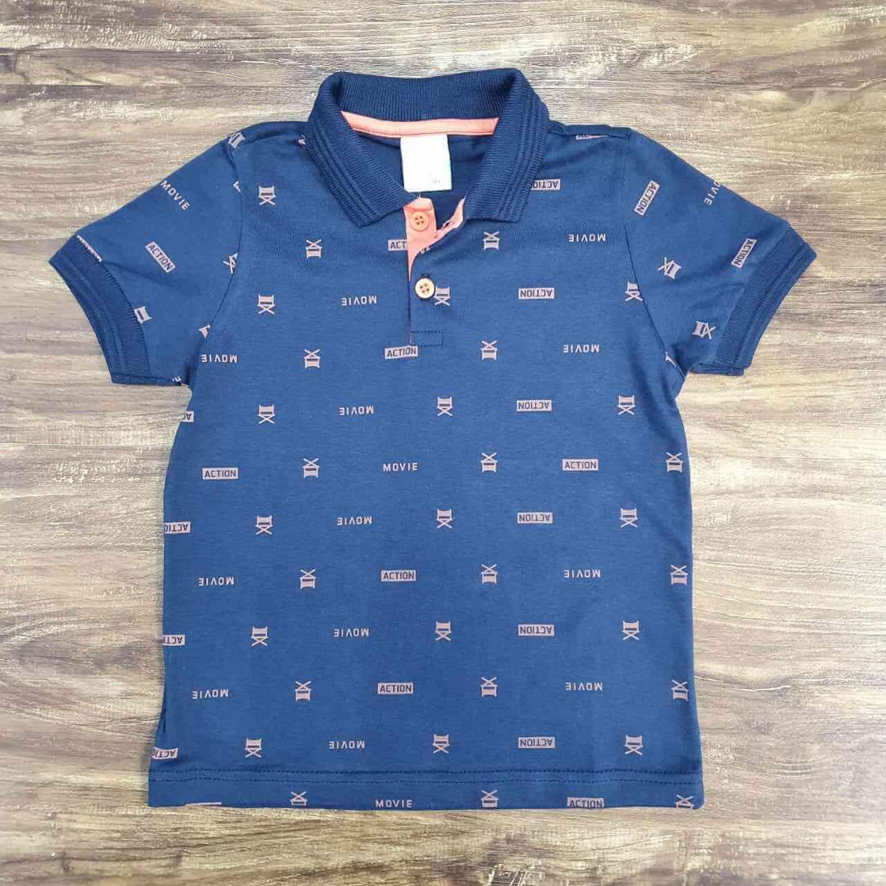 Camisa Polo Action Infantil