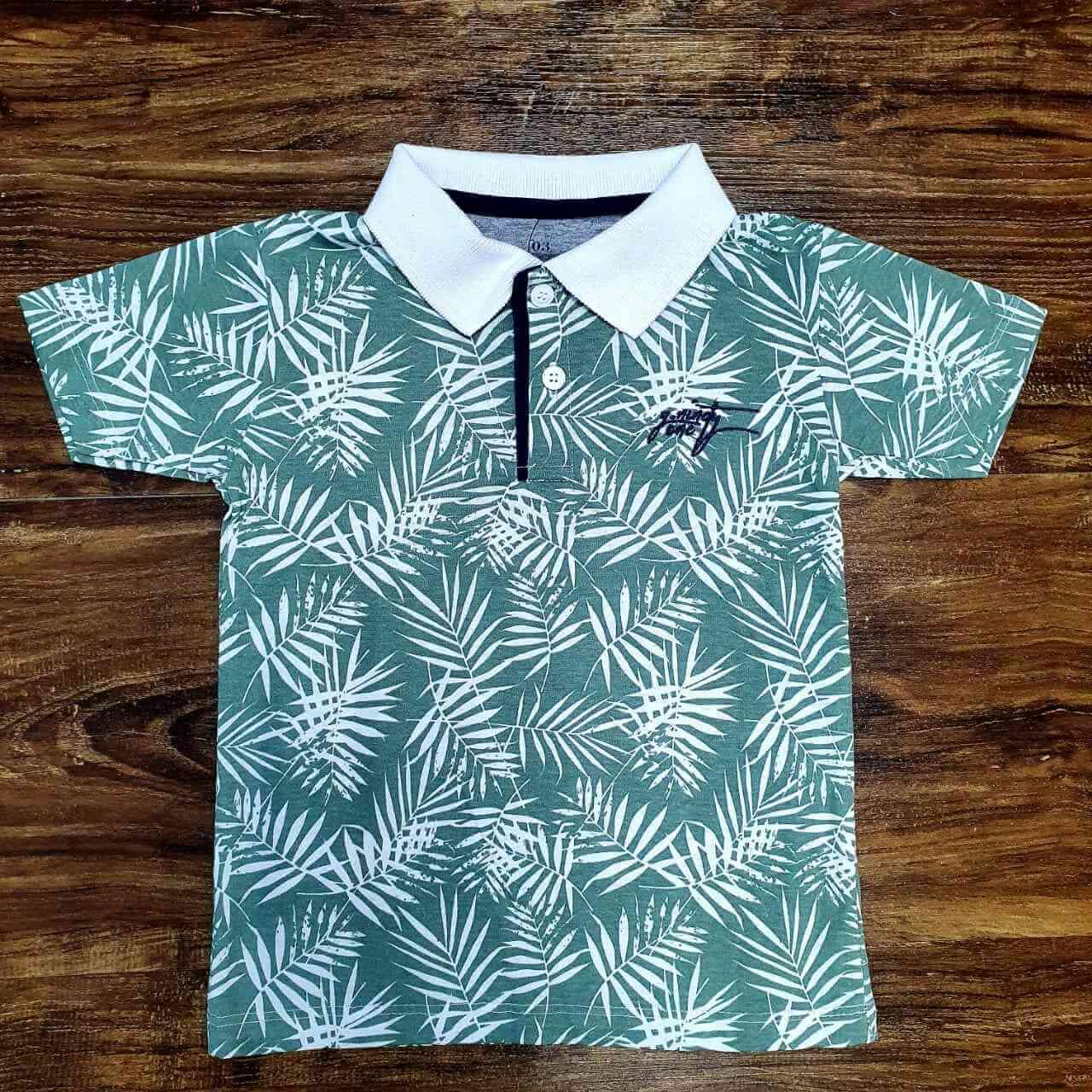 Camisa Polo foliage Infantil