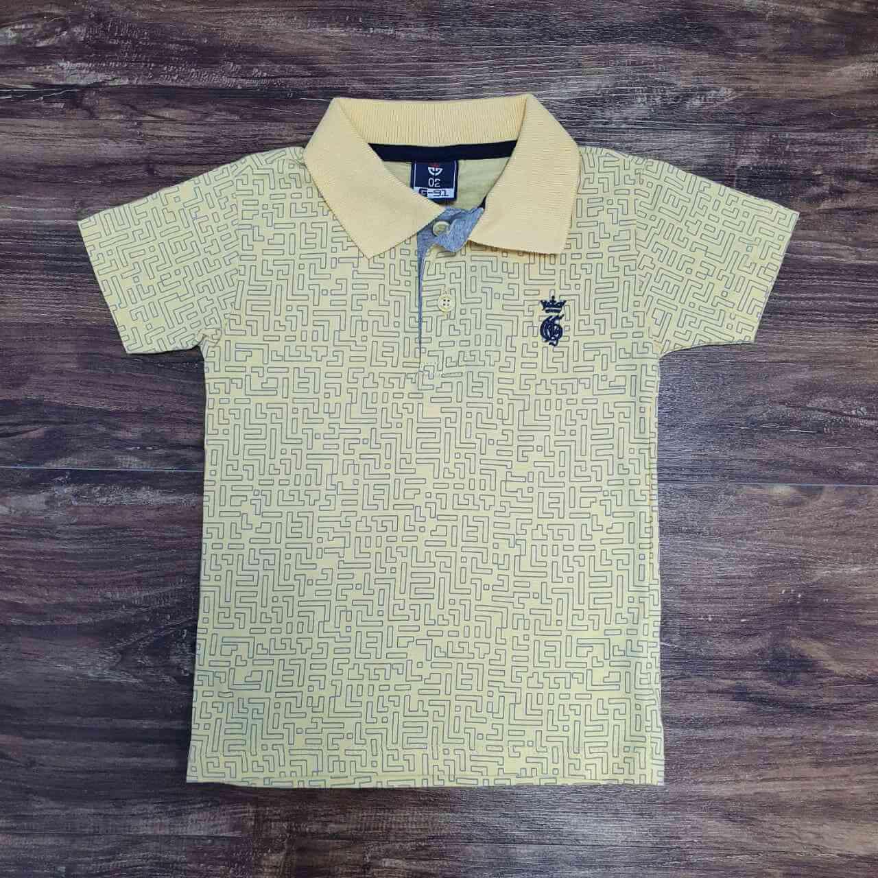 Camisa Polo Labirinto Infantil