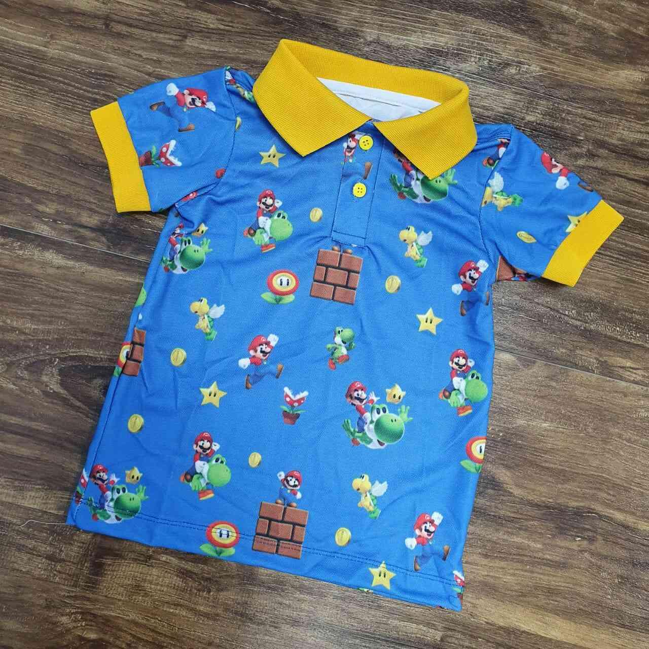 Polo Mario Azul